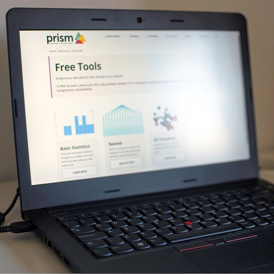 Prism releases free application-driven statistical analysis tools