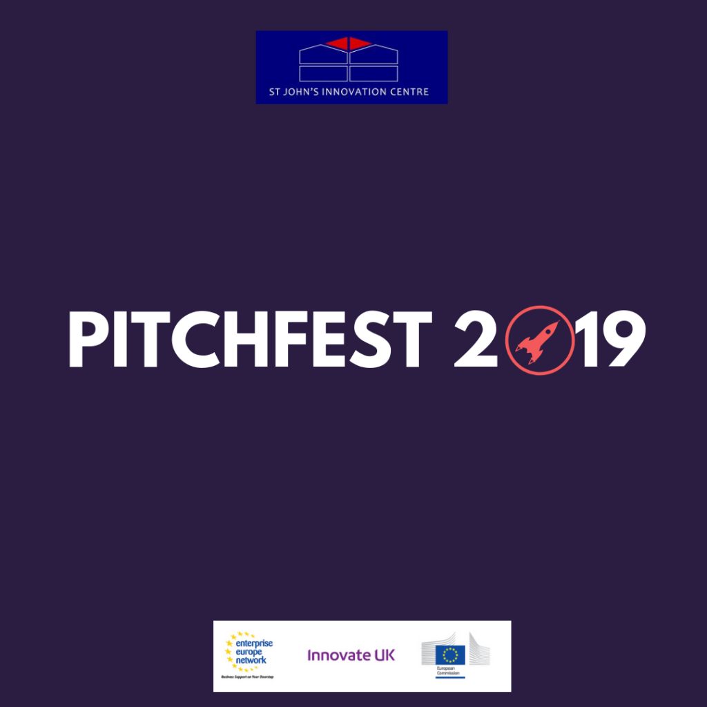 NEW EVENT – Pitchfest 2019