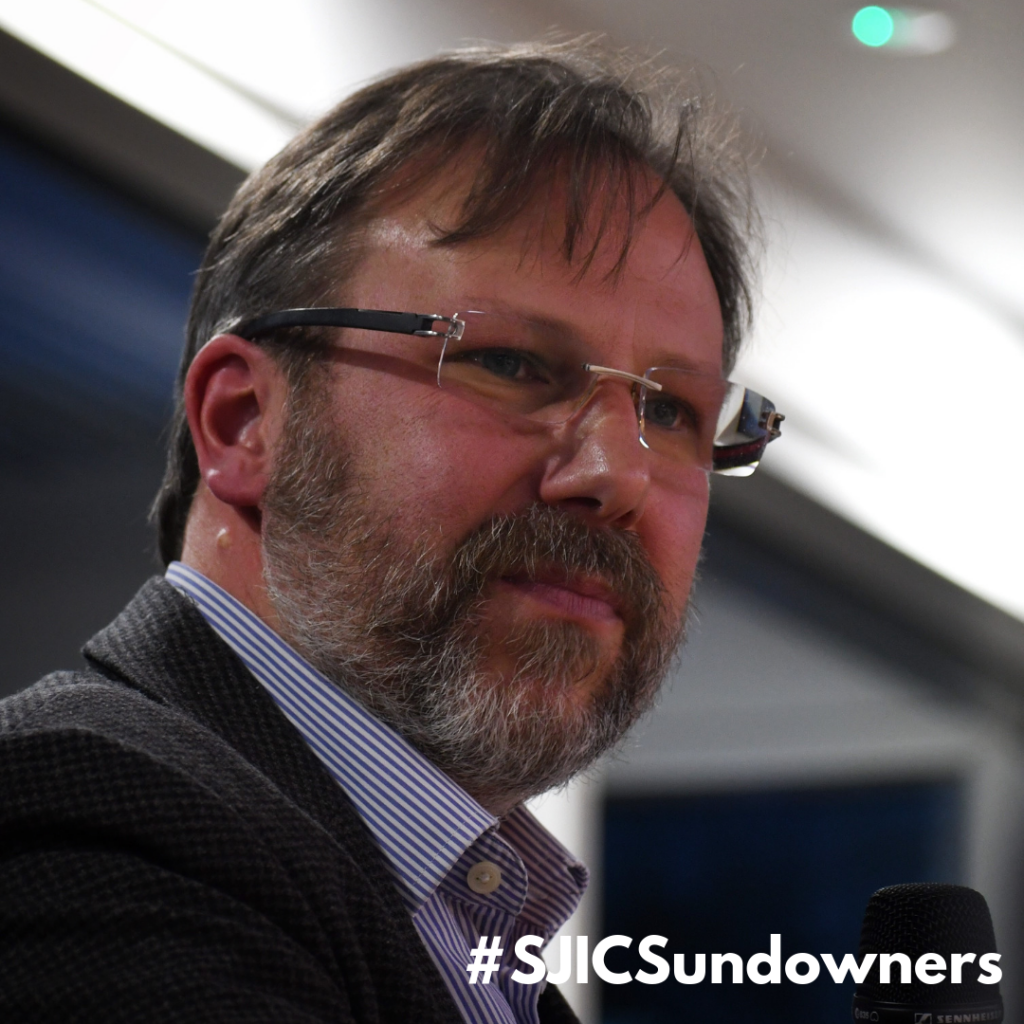SJIC Sundowners VOL.2 welcomes Dr Ward Hills
