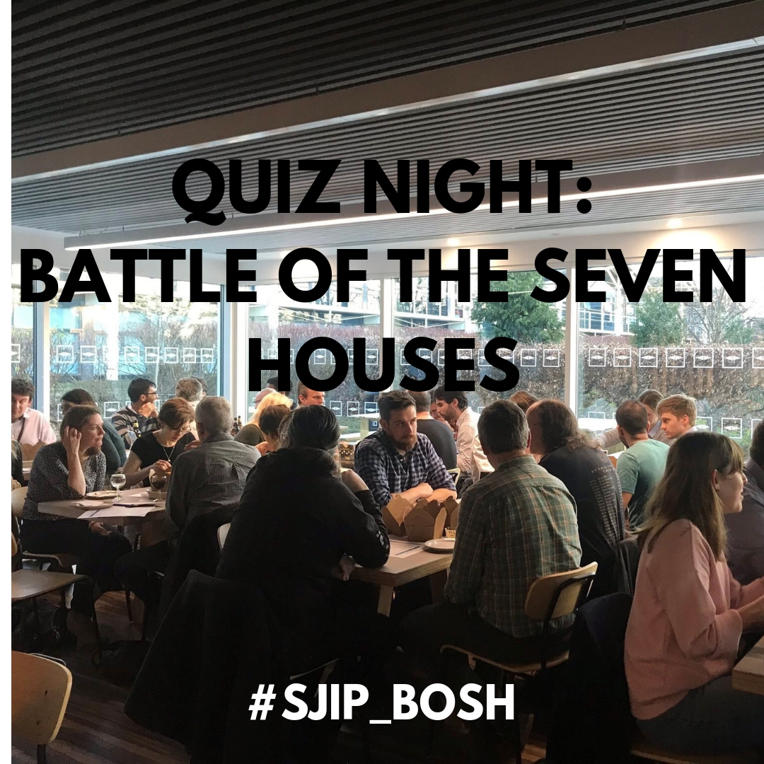 PAST EVENT – Quiz Night: Battle of the Seven Houses