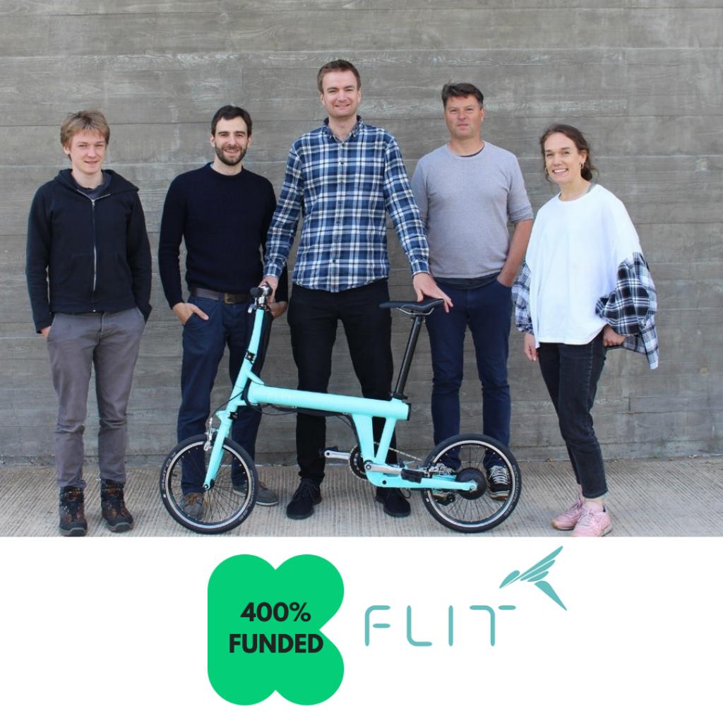 Cambridge ebike start-up gets 400% funded on Kickstarter
