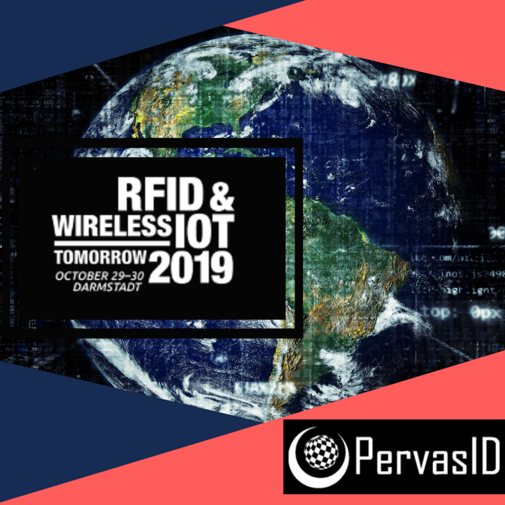 PervasID to showcase at RFID & Wireless IoT 2019