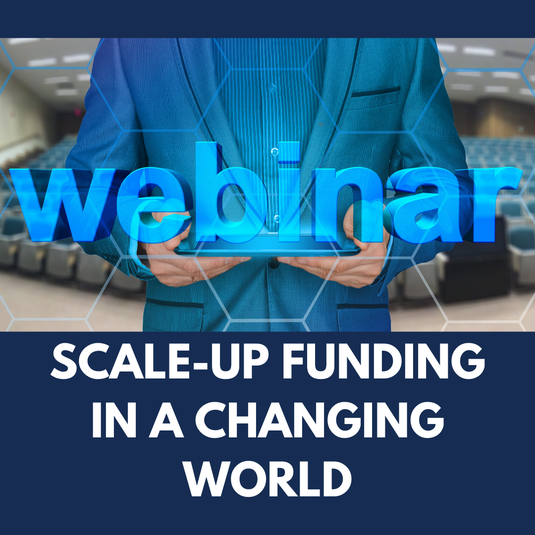 ONLINE EVENT: Scale-up funding in a changing world