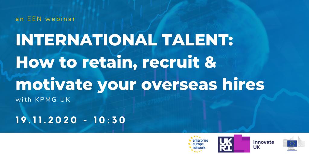 International Talent: How to Retain, Recruit & Motivate Your Overseas Hires w. KPMG UK & PervasID